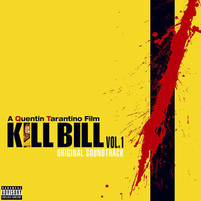 KILL BILL VOL.1 ORIGINAL SOUNDTRACK LP VINYL (2017)