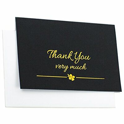 Thank You Cards With Envelopes- High Quality - For Weddings, Birthdays (20 Pack)