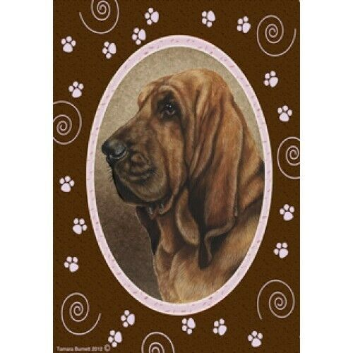 Paws House Flag - Bloodhound 17073
