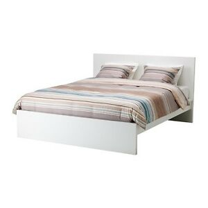 Ikea malm queen bed frame !! Asking $250.