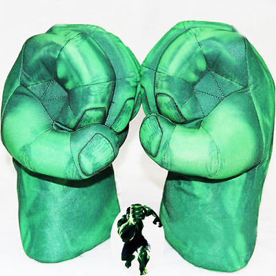 Super-sized Incredible Hulk Smash Hands Punching Boxing fist Cotton Glove 1 pair