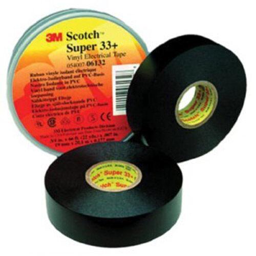 "3M 054007-06133 (3 Rolls) Super 33+ Vinyl Electrical Tape 3/4"" x 52"