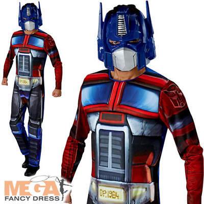 Optimus Prime Transformers Mens Fancy Dress Robot Superhero Movie Adults Costume - Quality Superhero Costumes