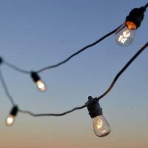 Outdoor festoon lights 20m Chermside Brisbane North East Preview