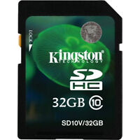 Kingston microSDHC 32 GB (Class 10) with SD Adapter SDC10/32GB