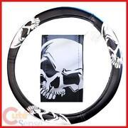 Skull Steering Wheel Cover