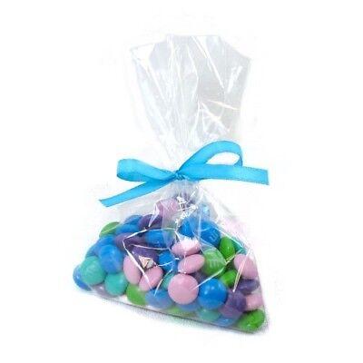 Clear Plastic Cellophane Party Treat Favor Premium Bags - 4 x 6