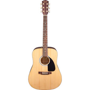 Squier Deluxe Acoustic Guitar Bundle (SA-55) - Natural Brand New