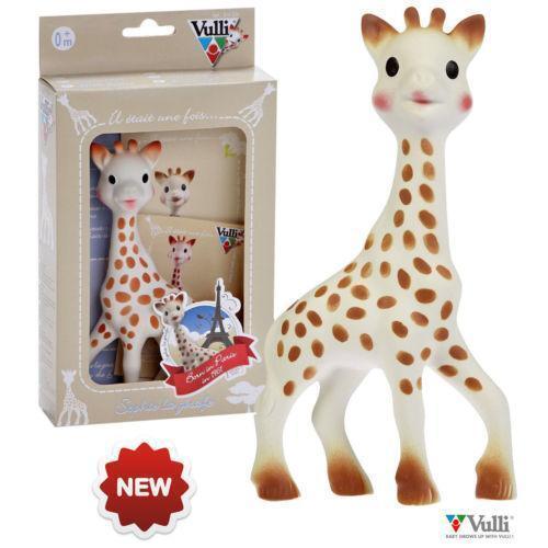 giraffe baby toy ebay. Black Bedroom Furniture Sets. Home Design Ideas