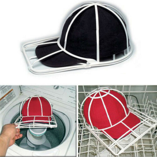Baseball Cap Washer Buddy Sports Hat Laundry Cleaner Flat Ca