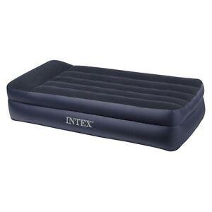 Intex-Twin-Pillowrest-Double-High-Air-Mattress-with-Built ...