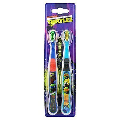 Nickelodeon Teenage Mutant Ninja Turtles Toothbrush 2 in  Pack
