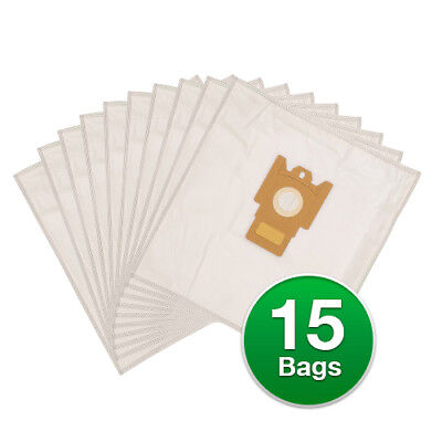 Replacement Type G/N Poly Wrapper Vacuum Bags F/ Miele Allergy Cntrl S438 -3Pack