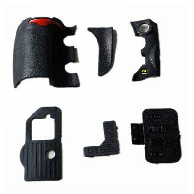 6 pieces Repair part of Grip Rubber Unit for Nikon D700 front Rear Side Cover