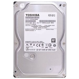 500 Gbps Hard drive 320 and 200 Gbps desktop hard drives