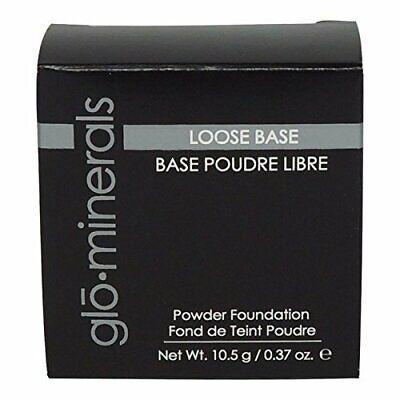 gloMinerals Loose Base Powder Foundation, Honey Medium, 10.5g / 0.35oz NIB