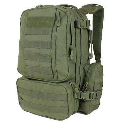 CONDOR 169 Tactical MOLLE Modular CONVOY Outdoor Hiking Pack Backpack OD Green