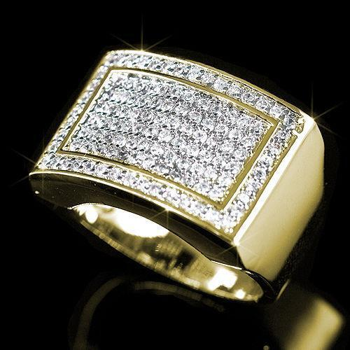 Big Mens Diamond Rings