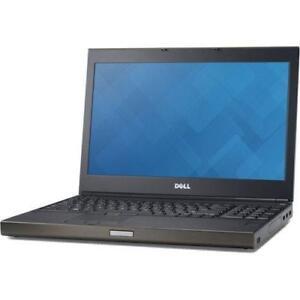 Dell Precision M4800 Laptop Intel Core i7-4900MQ 2.8GHz QC 16GB RAM 256GB SSD DVDRW Win7Pro 15.6-inch Display