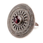 Statement Ruby Sterling Silver Fine Rings