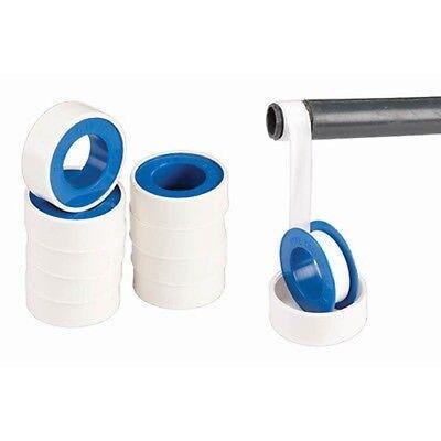 5 Rolls Of 34 X 520 Plumbers Pipe Thread Teflon Tape Sealer Threading Seal
