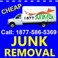 JUNK Removal in Oakville, Milton & Burlington =- 1 877 586 5369