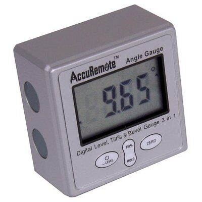 Digital Angle Cube Gage Electronic Gauge Sea Level Protractor Magnetic Base New