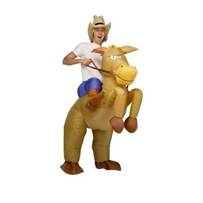 AirSuits Inflatable Horse and Cowboy Fancy Costume Dress Suit