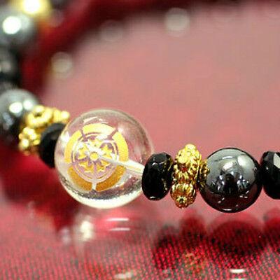 Japanese Good Fortune Samurai Crest Bracelets: Oda Nobunaga