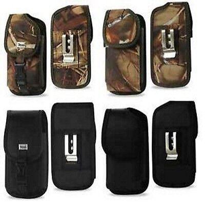 Durable Vertical Holster Case Pouch Metal Belt Clip for Smart -