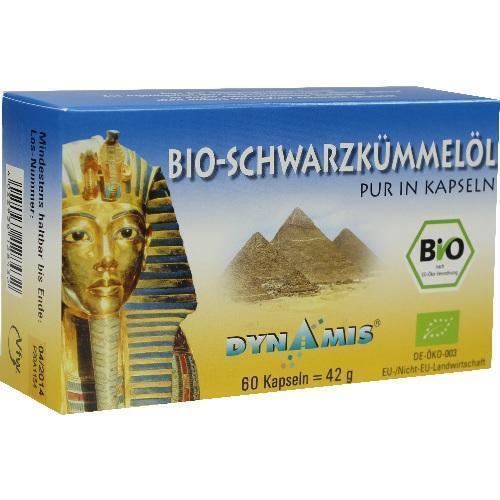 SCHWARZKÜMMEL ÄGYPT pur Kapseln 60 St