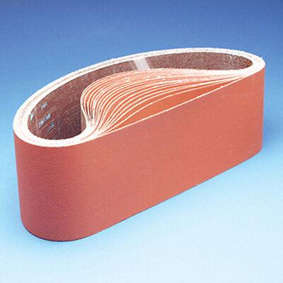 """3M Cubitron Coated Sanding Belts 777F 180 Grit Very Fine 4/"""" x 48/"""" 67966 25 pcs"""
