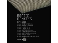 2 Tickets Arctic Monkeys. Friday 7th September Manchester Arena