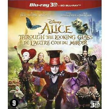 Alice through the looking glass (3D) (Blu-ray)