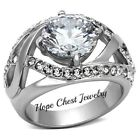 Cubic Zirconia 6 Ring CZ, Moissanite & Simulated Stone Engagement Rings