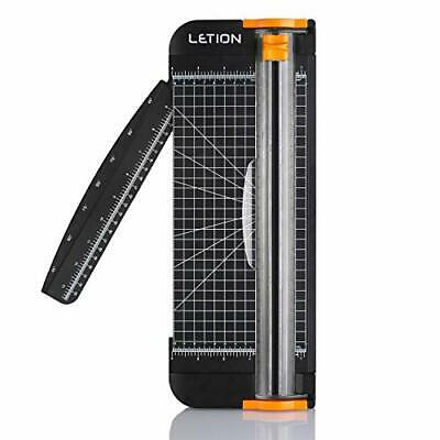 LETION A4 Paper Cutter Trimmer Guillotine with Automatic Sec