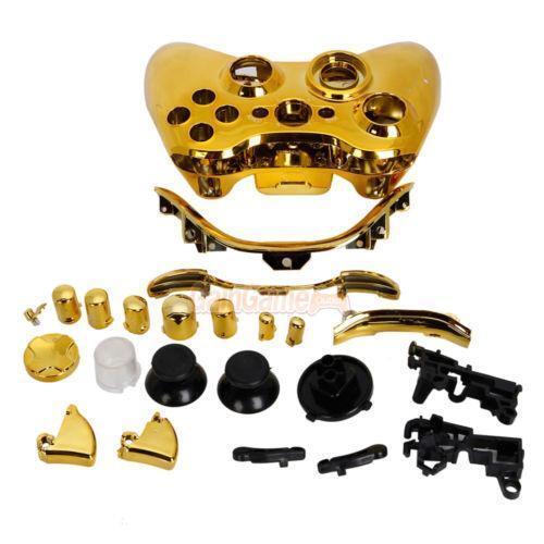Xbox 360 Wireless Controller Gold | eBay