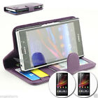 Mobile Phone Wallet Cases for Sony Sony Xperia Z1