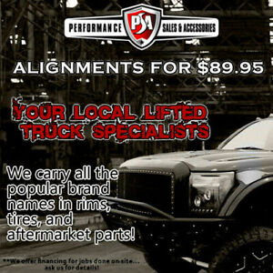 $89.95 Alignments and more!