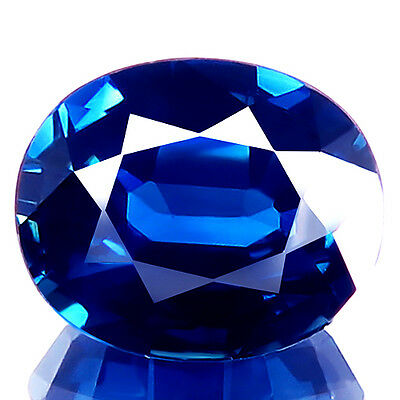 1.62ct IF-FLAWLESS REAL NATURAL SAPPHIRE BEST 5A+ BLUE SAPPHIRE EARTH MINED GEM!