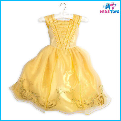 Disney Beauty and the Beast's Live Action Film Belle Costume for Kids Size 5/6](Disney Beast Costume For Kids)