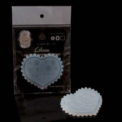Nailart Silikonform-3D Acrylformen-verschiedene Blumen Motive-2400-AI-66 ()
