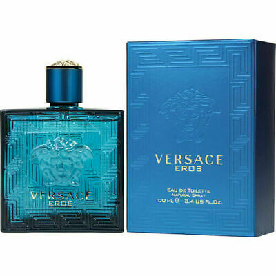 VERSACE EROS 3.4oz Men's EDT Cologne Brand New SEALED SALE