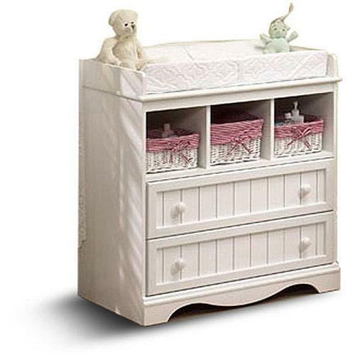 changing table dresser ebay. Black Bedroom Furniture Sets. Home Design Ideas