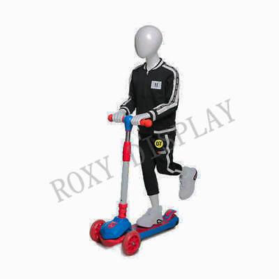 Egghead Boy Sport Mannequin Scooter Riding Pose Mz-hb-k01