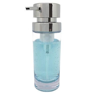 Seifenspender Clara chrom Shampoo Schaumspender Seife Soap Dispenser 200 ml
