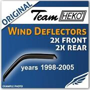 VW Bora Wind Deflectors