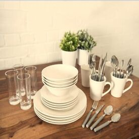 Dining set 36 pieces