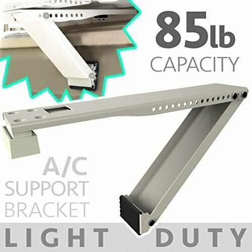 Universal Window Air Conditioner Bracket - 1pc Light-Duty Window AC Support