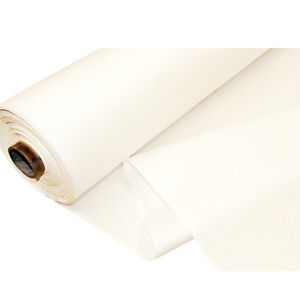 THERMAL BLACKOUT CURTAIN LINING FABRIC - 3 PASS WHITE - MATERIAL SOLD PER METRE